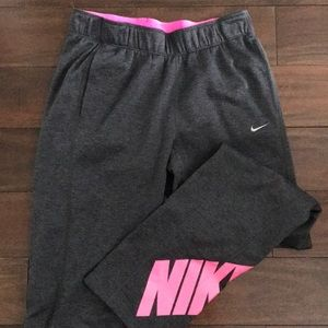 Nike heather gray sweatpants FINAL PRICE
